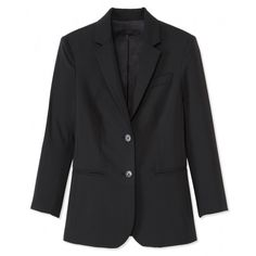 The Row Black Blazer - Shop perfect looks to wear to the office and on a date: www. Just Blaze, Jeweled Shoes, Fashion Articles, Winter Wardrobe, Blazer Jacket, What To Wear, Jackets For Women, Menswear, Womens Fashion