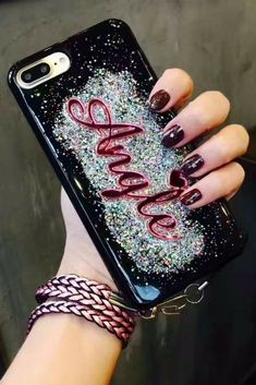Glitter Angle liquid  iphone 6, iphone 6 plus, iphone 7 & iphone 7 plus protective case for fashion cute teen girls