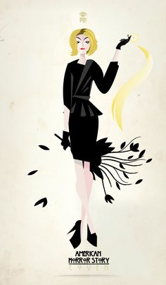 "Fiona Goode | These ""American Horror Story: Coven"" Minimalist Posters Are Amazing"