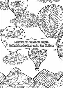 65 Best Hot Air Balloon Coloring Pages For Adult Images On Pinterest