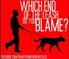 Blame the deed not the breed!
