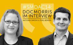 SMDAC14 | Antonia Simon und Jörg Berens von DocMorris im Interview #smdac14