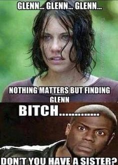 What about Beth? Hahahahahahahha!!! Omg!!! The Walking Dead
