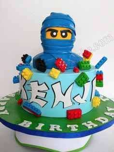 Celebrate with Cake!: Ninjago Cake