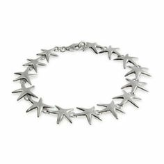 Sterling Silver Jewelry - Sterling Silver Happy Starfish Bracelet