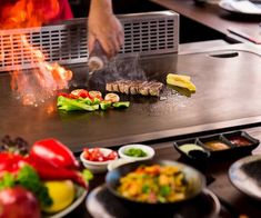 What is Teppanyaki? Teppanyaki-Style Cooking - Cookeryaki Teppanyaki, Restaurant, Restaurants, Dining Room