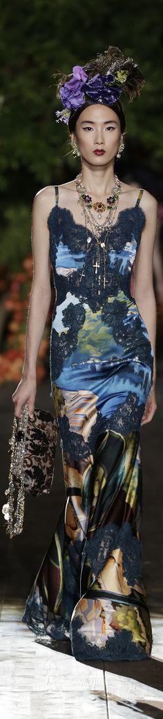 Dolce & Gabbana Alta Moda Fall 2015 couture