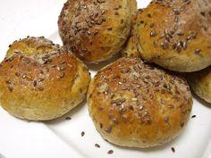 Pogotowie Kulinarne: Bułeczki z siemieniem lnianym