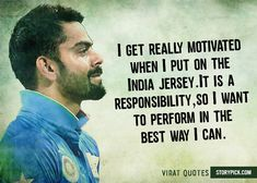 12 Quotes By Virat Kohli That Will Definitely Inspire You To Strive For Greatness Cricket Tips, Cricket Quotes, Cricket Sport, Motivational Quotes Wallpaper, Inspirational Quotes, Virat Kohli Quotes, Dhoni Quotes, Virat Kohli Wallpapers, Virat And Anushka