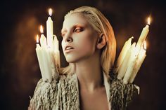 """""""Burn Away""""   Model: Elena Mitinskaya, Photographer: Ekaterina Belinskaya , 2013"""