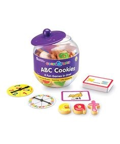 Take a look at this Learning Resources ABC Cookies Goodie Games Set by Learning Resources on #zulily today!