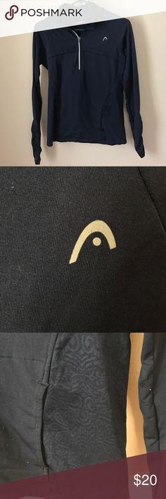 Head Tennis Workout Pullover EUC only worn a few times head Tops Sweatshirts & Hoodies