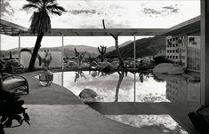 Loewy House, Palm Springs. Julius Shulman.
