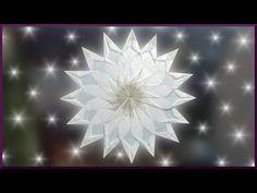 DIY | Waldorf Fensterstern basteln | Weihnachtsstern falten | paper christmas window star - YouTube