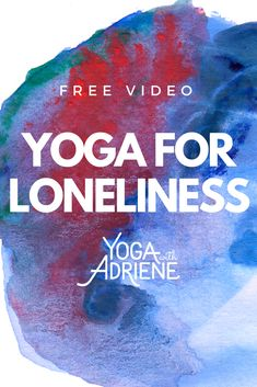 Yoga For Loneliness is an all levels yoga sequence that will serve anyone who is lonely, or anyone who has ever felt alone. This hands free, low to the ground practice stays off the knees and opens up the body with the breath uniting mind and body in a way that serves. You are not alone! Connect to the big picture, nurture your spine, stretch, soothe and light a little fire in your core.