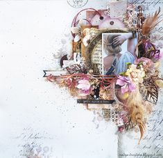 Once upon a time - Nadya Drozdova - Challenge inspiration
