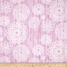 Violet Craft Brambleberry Ridge Knots & Loops Orchid from @fabricdotcom  Designed by Violet Craft for Michael Miller, this cotton print is perfect for quilting, apparel and home decor accents.  Colors include white and shades of orchid.