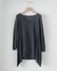 Poetry - Swingy Linen Sweater