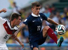 France - Allemagne : Antoine Griezmann face à Philipp Lahm