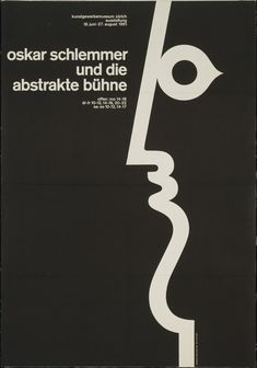 "Fridolin Müller  Oskar Schlemmer und die Abstrakte Bühne  1961  Offset lithograph  Dimensions  35 1/2 x 50"" (90.1 x 127.0 cm)  MoMA"