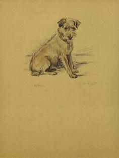 CUTE POOCH  1930s Vintage Dog Print Wall Decor by HucksterHaven, $15.00