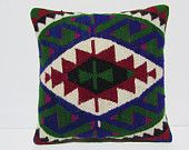 20x20 kilim pillow 20x20 extra large cushion large accent pillow large throw pillow oversized throw pillow 20x20 throw pillow purples 29938