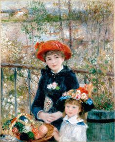 Pierre Auguste Renoir Two Sisters print for sale. Shop for Pierre Auguste Renoir Two Sisters painting and frame at discount price, ships in 24 hours. Pierre Auguste Renoir, Jean Renoir, Edouard Manet, August Renoir, Renoir Paintings, Painting Prints, Art Prints, Art Gallery, Photo D Art