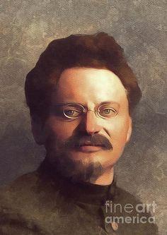 Leon Trotsky, History portraits by Esoterica Art Agency Portrait Art, Portraits, Soviet Union, Revolutionaries, Google Images, Mona Lisa, Wall Art, Celebrities, Artwork