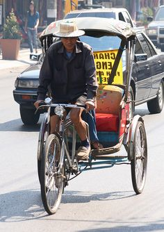 This is How We Roll: Bicycle Taxis in Southeast Asia
