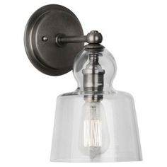 Albert Wall Sconce - Clear