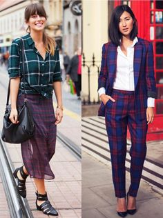 Plaid time trend! Check it out on my blog.