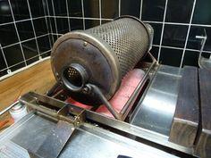 オリジナル焙煎機:自家焙煎珈琲工房・珈琲館 「生豆屋」