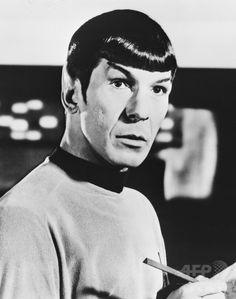 米テレビシリーズ「スタートレック」でミスター・スポックを演じる米俳優のレナード・ニモイ氏(撮影日不明)。(c)NurPhoto ▼28Feb2015AFP スタートレックのMr.スポック役、米俳優レナード・ニモイ氏死去 http://www.afpbb.com/articles/-/3041055 #Leonard_Nimoy #Star_Trek #Mr_Spock