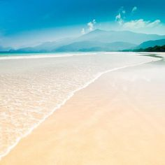 Beautiful Lopes Mendes Beach, Brazil