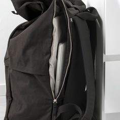 FÖRENKLA bags are packed with smart functions to simplify commuting and shorter travel – designed for and by people on the go. Add FÖRFINA travel accessories to keeps things organized and close at hand. Black Backpack, Backpack Bags, Commute To Work, Synthetic Rubber, Suits You, Travel Accessories, Ikea, Bomber Jacket, Backpacks