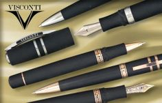 Looking for a last minute gift for him? The Visconti pen line features a sophisticated and attractive design!