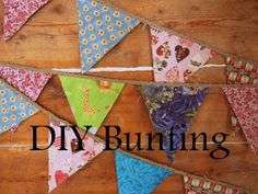 Motherhood: my latest adventure: DIY bunting