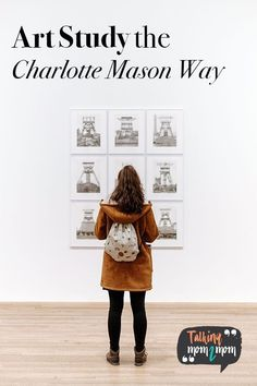 Conducting a Charlotte Mason art study and create an art portfolio you kids will love! Charlotte Mason, Art Studies, Teaching Art, Art Music, Art Education, A Team, Traveling By Yourself, Art Gallery, Study