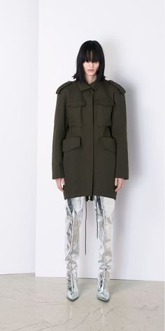Balenciaga Jacket for Women - Discover the latest collection at the official Balenciaga online store.