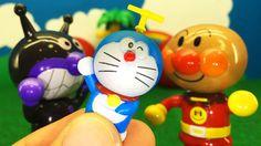 Doraemon 3D Animation❤バイキンマンとタケコプター アンパンマン おもちゃアニメ