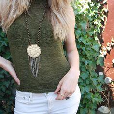Tassel Necklace, Shopping, Collection, Jewelry, Fashion, Moda, Jewlery, Bijoux, Fashion Styles