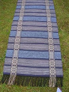 rustic blue and gray Picnic Blanket, Outdoor Blanket, Rustic Blue, Textiles, Rag Rugs, Woven Rug, Scandinavian Style, Carpets, Pattern Design