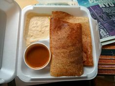 Delectable Masala Dosas From a Cart at Washington Square - Fork in the Road