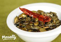 Chilis tökmag   Nosalty Tapas, Chili, Vegan Recipes, Beef, Food, Meat, Chile, Vegane Rezepte, Essen