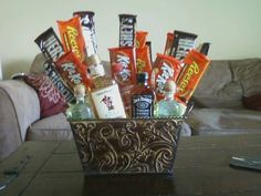 father's day liquor baskets