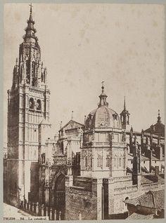 Catedral hacia 1870 © Archives départementales de l'Aude (Foto de Jean Laurent) - Eduardo Sánchez Butragueño
