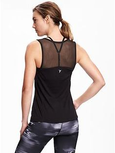 Go-Dry Cool Mesh-Back Top for Women | Old Navy