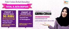 PAKET BERKAH RAMADHAN BEBASBAYAR, TOTAL 5 JUTA RUPIAH