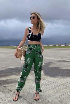 Ootd, Parachute Pants, Harem Pants, Capri Pants, Instagram, Outfits, Mix, Casual Summer, Beach