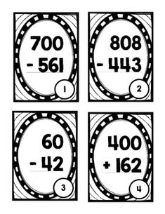 14 Best three digit subtraction games images in 2019